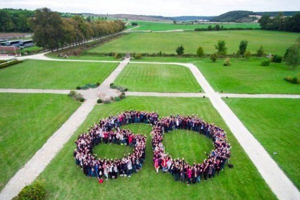 Anniversaire d'entreprise avec 300 collaborateurs!